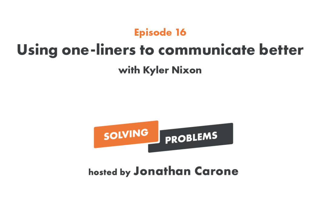 Using one-liners to communicate better