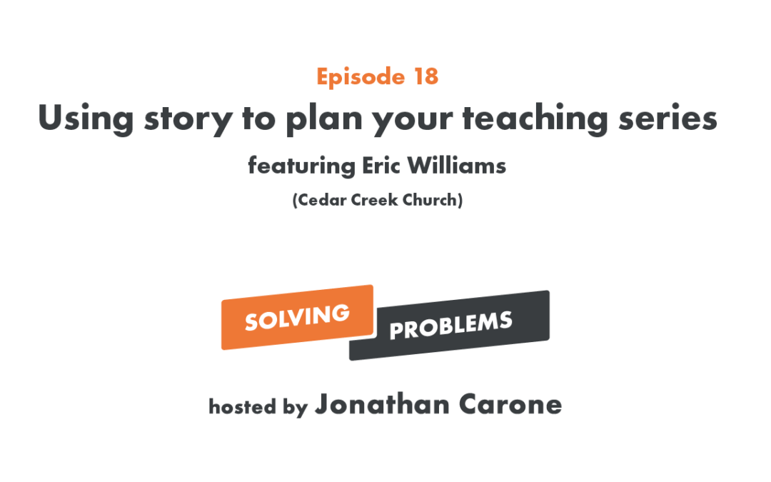 Using story to plan your teaching series